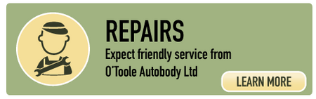 Repairs | Expect friendly service from O'Toole Autobody Ltd | Learn More